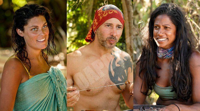 Survivor: Winners at War: Michele Fitzgerald - Tony Vlachos - Natalie Anderson