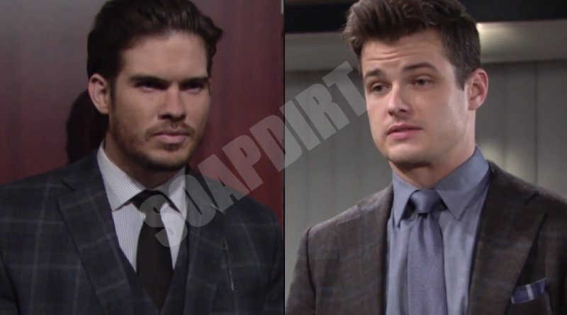 Young and the Restless Spoilers: Theo Vanderway (Tyler Johnson) - Kyle Abbott (Michael Mealor)