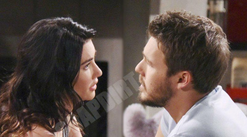 Bold and the Beautiful: Steffy Forrester (Jacqueline MacInnes Wood) - Liam Spencer (Scott Clifton)