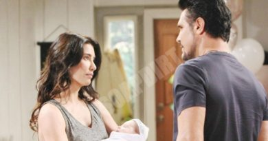 Bold and the Beautiful Spoilers: Steffy Forrester (Jacqueline MacInnes Wood) Bill Spencer (Don Diamont)
