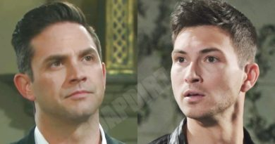 Days of Our Lives Spoilers: Stefan DiMera (Brandon Barash) - Ben Weston (Robert Scott Wilson)