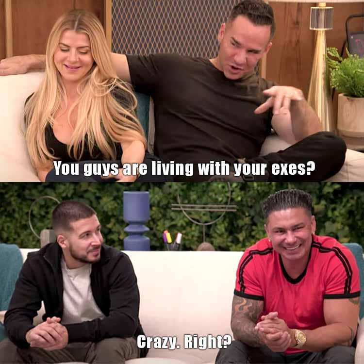 Double Shot At Love: Pauly DelVecchio - Vinny Guadagnino - Lauren Sorrentino - Mike Sorrentino