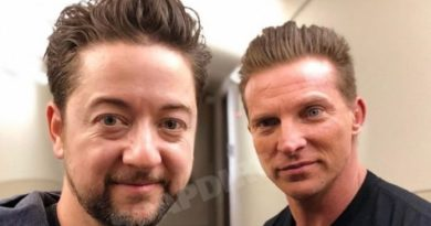 General Hospital: Damian Spinelli (Bradford Anderson) - Jason Morgan (Steve Burton)
