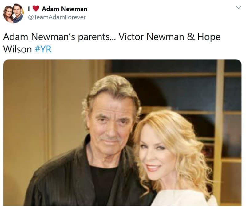 Young and the Restless Spoilers: Victor Newman (Eric Braeden) - Hope Wilson (Signy Coleman)