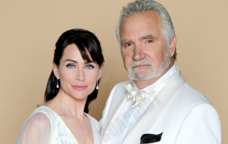 Bold and the Beautiful: Eric Forrester (John McCook) - Quinn Fuller (Rena Sofer)