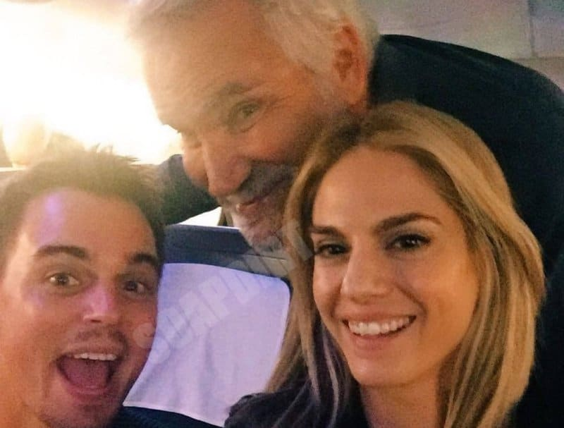 Bold and the Beautiful: Wyatt Spencer (Darin Brooks) - Eric Forrester (John McCook) - Kelly Kruger