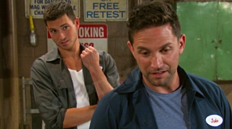 Days of our Lives Spoilers: Ben Weston (Robert Scott Wilson) - Jake Lambert (Brandon Barash)