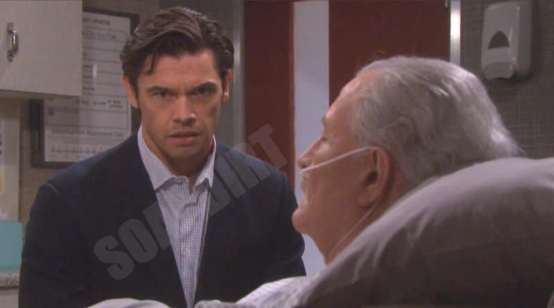 Days of Our Lives Spoilers: Victor Kiriakis (John Aniston) - Xander Cook (Paul Telfer)