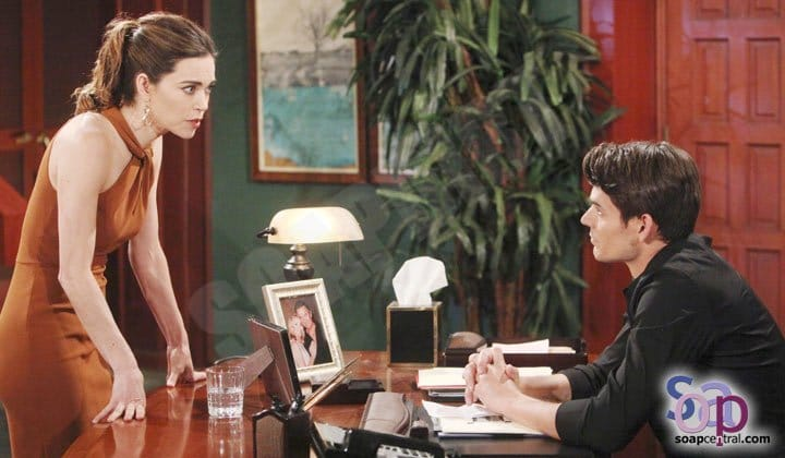Young and the Restless: Victoria Newman (Amelia Heinle) - Adam Newman (Mark Grossman)