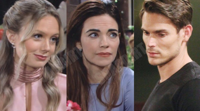 Young and the Restless: Abby Newman (Melissa Ordway) - Victoria Newman (Amelia Heinle) - Adam Newman (Mark Grossman)