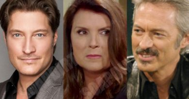 Young and the Restless: Deacon Sharpe (Sean Kanan) - Sheila Carter (Kimberlin Brown) - Tom Fisher (Roscoe Born)
