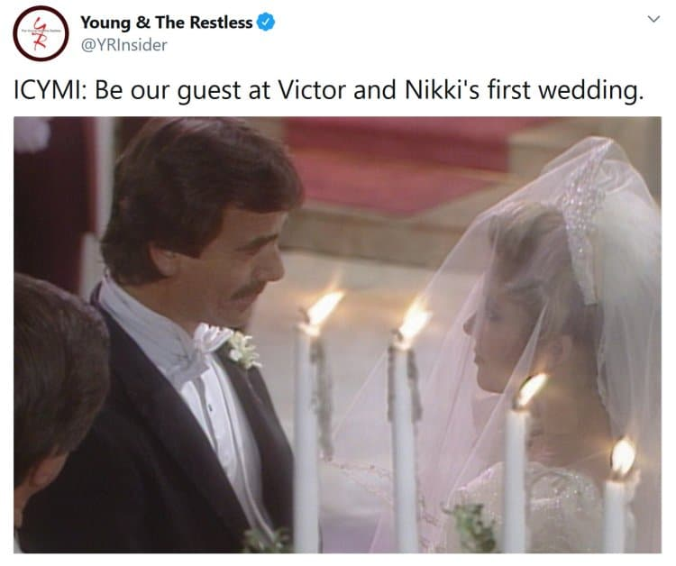 Young and the Restless: Nikki Newman (Melody Thomas Scott) - Victor Newman (Eric Braeden)