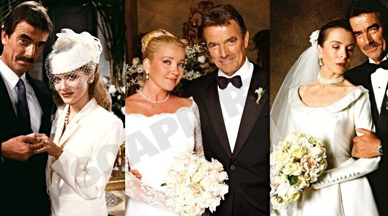 Young and the Restless: Victor Newman (Eric Braeden) - Leanna Love (Barbara Crampton) - Nikki Newman (Melody Thomas Scott) - Hope Wilson (Signy Coleman)