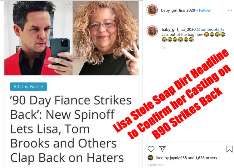 90 Day Fiance: Lisa Hamme - Tom Brooks-Before the 90 Days