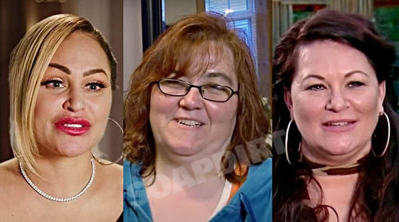 90 Day Fiance: Darcey Silva - Danielle Jbali - Molly Hopkins