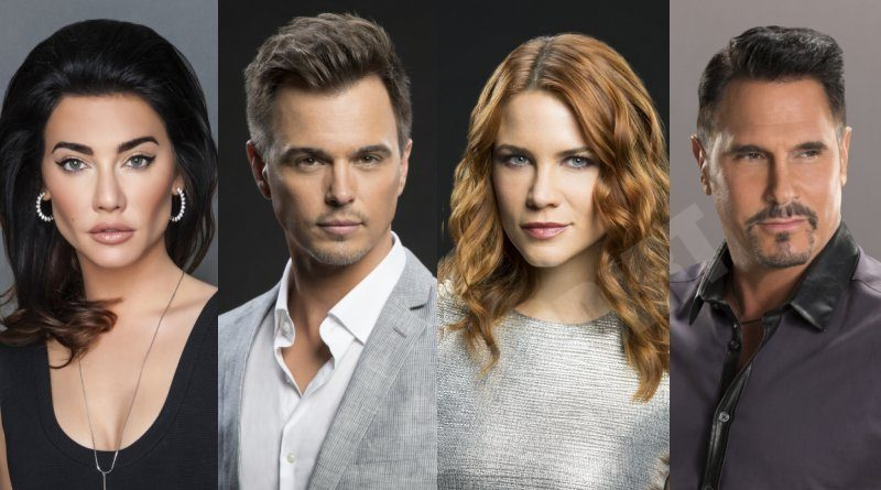 Bold and the Beautiful: Bill Spencer (Don Diamont) - Steffy Forrester (Jacqueline MacInnes Wood) - Wyatt Spencer (Darin Brooks) - Sally Spectra (Courtney Hope)