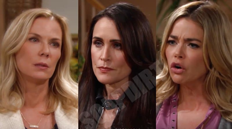 Bold and the Beautiful: Shauna Fulton (Denise Richards) - Quinn Fuller (Rena Sofer) - Brooke Logan (Katherine Kelly Lang)
