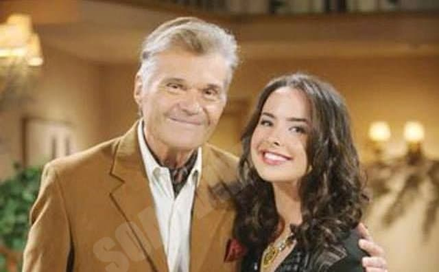 Bold and the Beautiful: Ivy Forrester (Ashleigh Brewer) - John Forrester (Fred Willard)