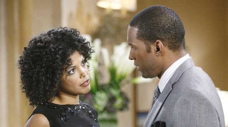 Bold and the Beautiful Comings & Goings: Maya Avant (Karla Mosley) - Carter Walton (Lawrence-Saint Victor)