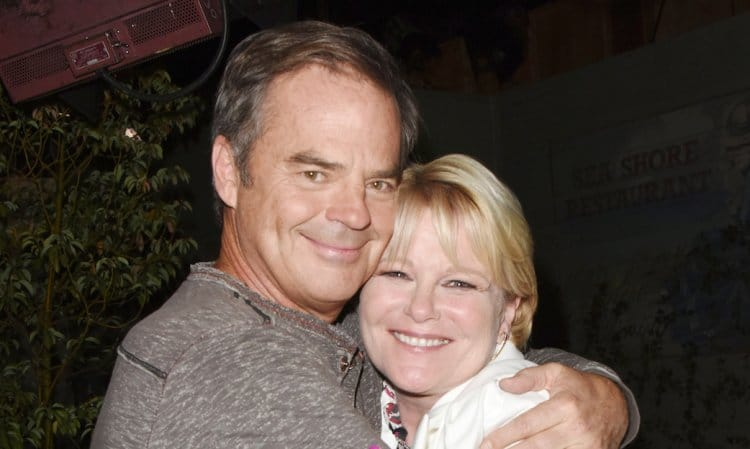 Days of Our Lives: Adrienne Kiriakis (Judi Evans) - Justin Kiriakis (Wally Kurth)