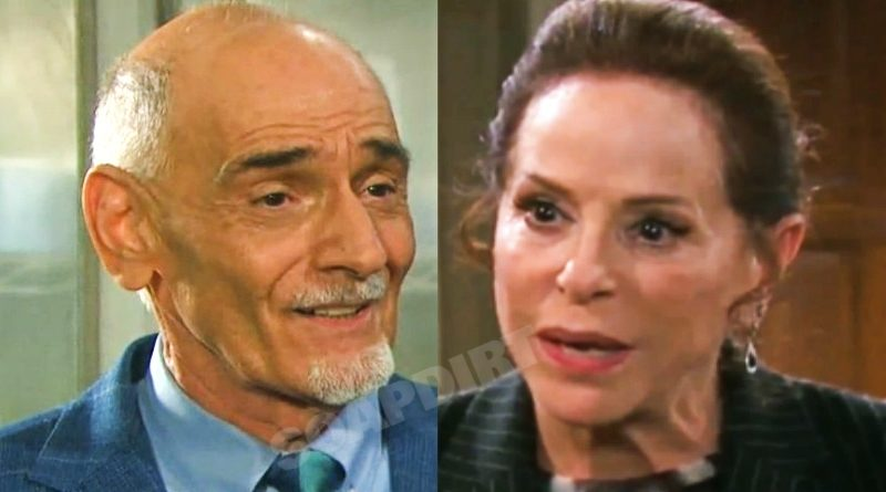 Days of Our Lives Spoilers: Wilhelm Rolf (William Utay) - Vivian Alamain (Louise Sorel)