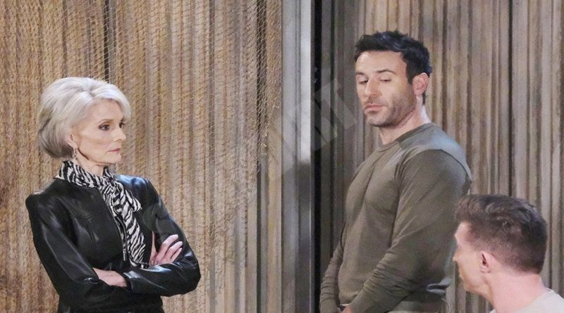 General Hospital: Helena Cassadine (Constance Towers) - Shiloh Archer (Coby Ryan McLaughlin) - Drew Cain (Steve Burton)