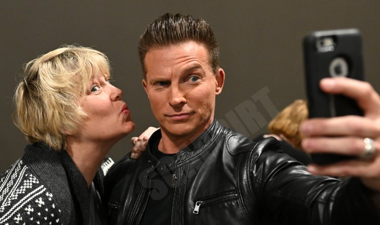 General Hospital: Jason Morgan (Steve Burton) and fan