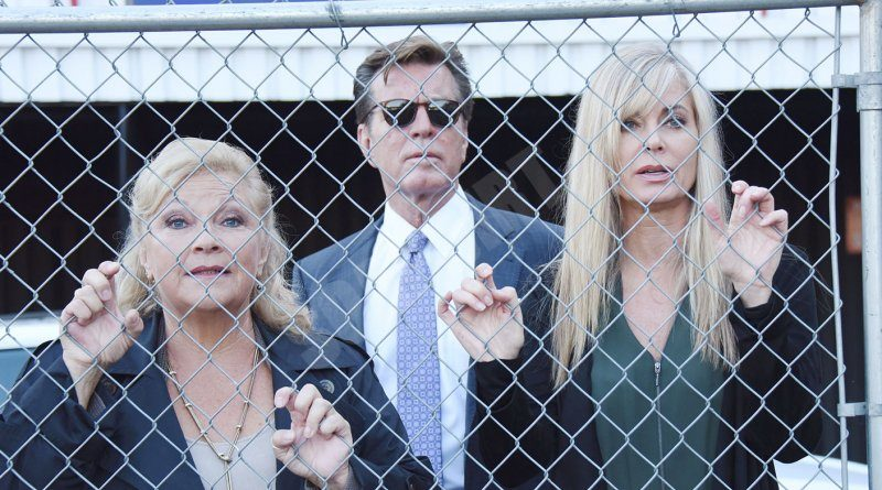 Young and the Restless Spoilers: Jack Abbott (Peter Bergman) - Ashley Abbott (Eileen Davidson) - Traci Abbott (Beth Maitland)