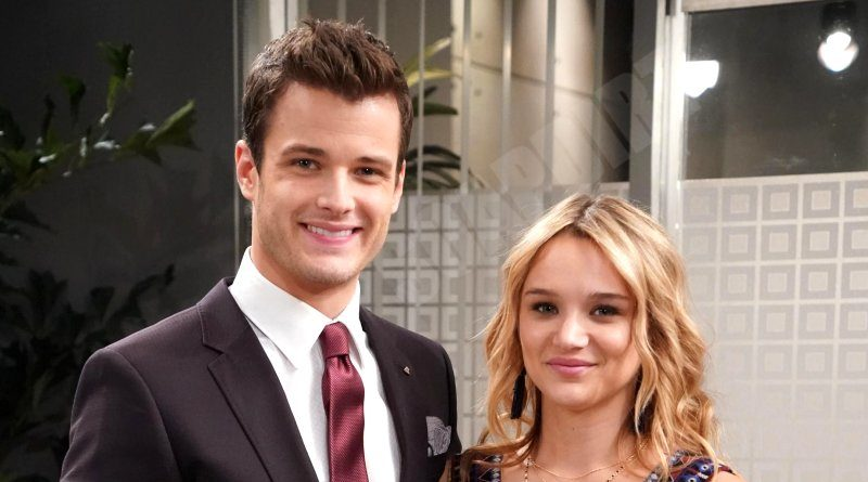Young and the Restless: Kyle Abbott (Michael Mealor) - Summer Newman (Hunter King)