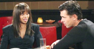 Young and the Restless: Billy Abbott (Jason Thompson) - Amanda Sinclair (Mishael Morgan)