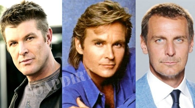 Bold and the Beautiful: Thorne Forrester (Winsor Harmon) - (Jeff Trachta) - (Ingo Rademacher)