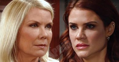Bold and the Beautiful: Brooke Logan (Katherine Kelly Lang) - Sally Spectra (Courtney Hope)