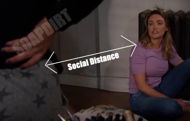 Bold and the Beautiful: Social Distance