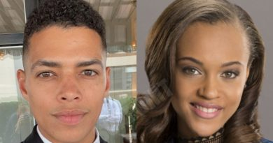 Bold and the Beautiful Spoilers: Zende Forrester (Delon de Metz) - Nicole Avant (Reign Edwards)