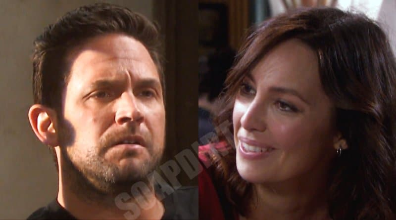 Days of Our Lives Spoilers: Jake Lambert (Brandon Barash) - Gwen (Emily O'Brien)