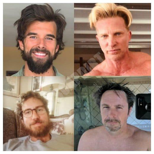 General Hospital: Harrison Chase (Josh Swickaard) - Jason Morgan (Steve Burton) - Peter August (Wes Ramsey) - Julian Jerome (William deVry)