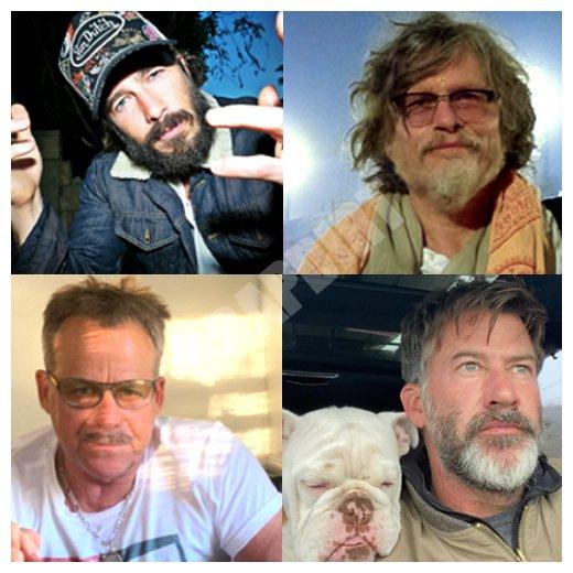 General Hospital: Lucas Jones (Ryan Carnes) - Cyrus Renault (Jeff Kober) - Scott Baldwin (Kin Shriner) - Neil Byrne (Joe Flanigan)