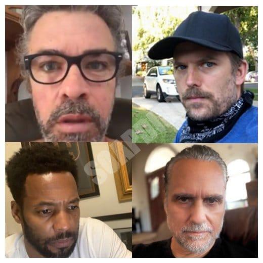 General Hospital: Mac Scorpio (John J York) - Dustin Phillips (Mark Lawson) - Andre Maddox (Anthony Montgomery) - Sonny Corinthos (Maurice Benard)