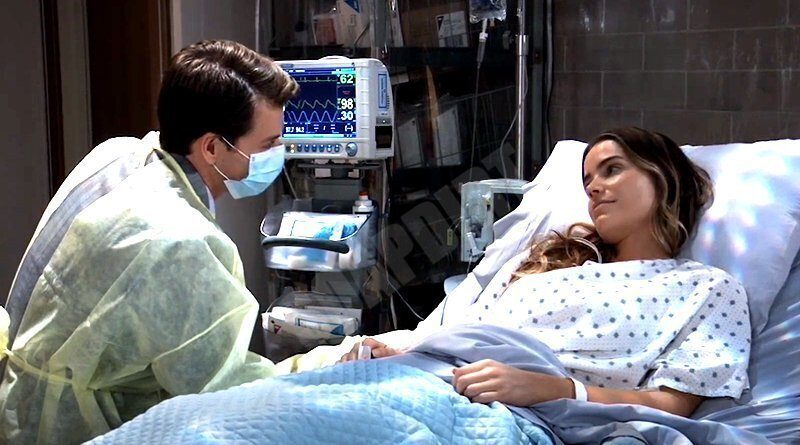 General Hospital: Michael Corinthos (Chad Duell) - Sasha Gilmore (Sofia Mattsson)