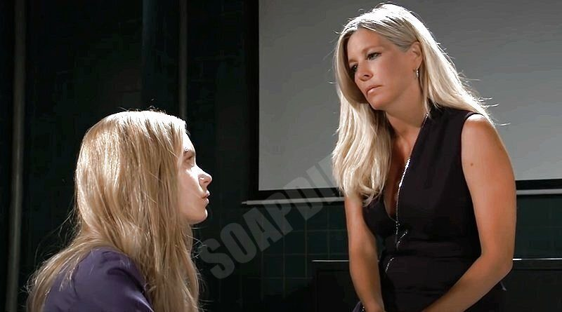 General Hospital: Carly Corinthos (Laura Wright) - Nelle Hayes ( Chloe Lanier)