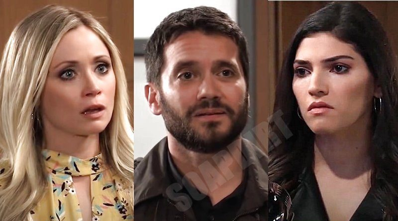 General Hospital Spoilers: Lulu Spencer (Emme Rylan) - Dante Falconeri (Dominic Zamprogna) - Brook Lynn Ashton (Amanda Setton)