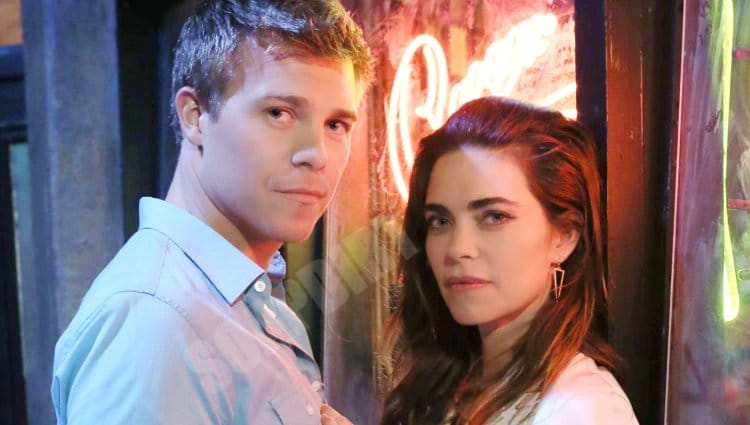 Young and the Restless Spoilers: Victoria Newman (Amelia Heinle) - Travis Crawford (Michael Roark)