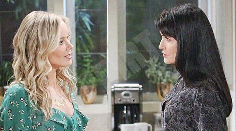 Bold and the Beautiful Spoilers: Donna Logan (Jennifer Gareis) - Quinn Fuller (Rena Sofer)