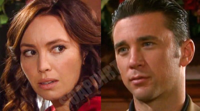 Days of Our Lives Spoilers: Chad DiMera (Billy Flynn) - Gwen Rizczech (Emily O'Brien)