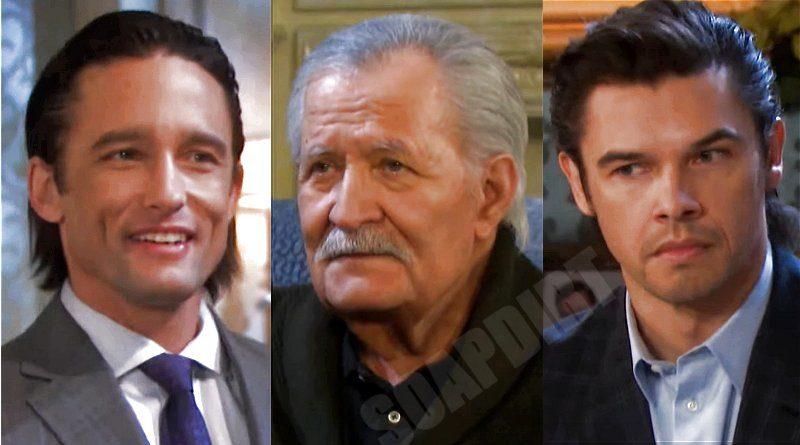Days of our Lives Spoilers: Victor Kiriakis (John Aniston) - Xander Cook (Paul Telfer) - Philip Kiriakis (Jay Kenneth Johnson)