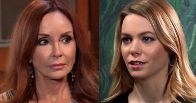 General Hospital Comings and Goings: Bobbie Spencer (Jacklyn Zeman) - Nelle Hayes (Chloe Lanier)