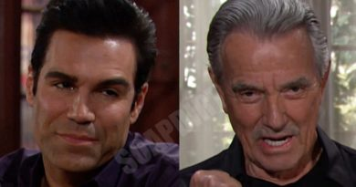 Young and the Restless Spoilers: Victor Newman (Eric Braeden) - Rey Rosales (Jordi Vilasuso)
