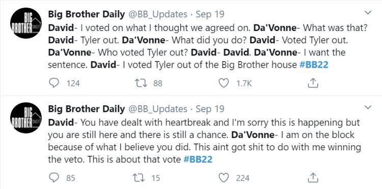 Big Brother: Big Brother: Da'Vonne Rogers - David Alexander