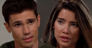 "Bold and the Beautiful Spoilers: Steffy Forrester (Jacqueline MacInnes Wood) - John Finnegan ""Finn"" (Tanner Novlan)"