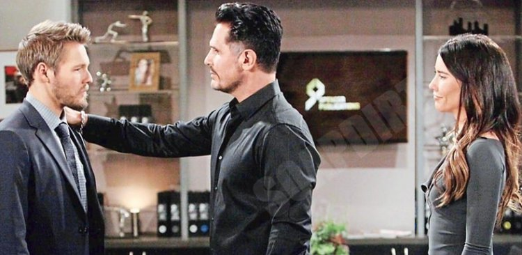 Bold and the Beautiful: Steffy Forrester (Jacqueline MacInnes Wood) - Bill Spencer (Don Diamont) - Liam Spencer (Scott Clifton)